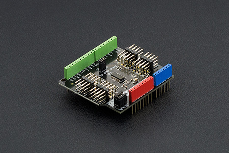 Gravity: I2C TO GPIO shield V2.0