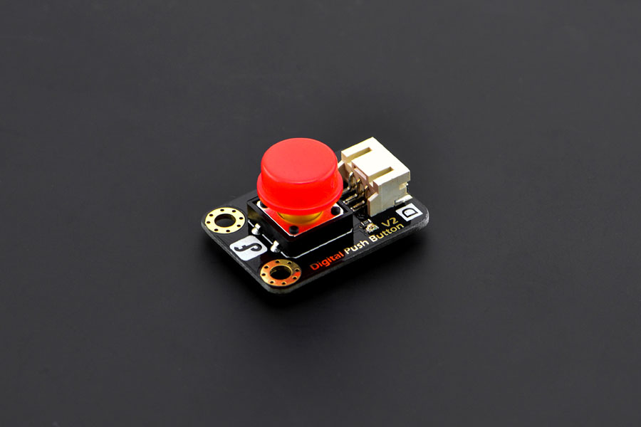 Gravity: Digital Push Button (Red)