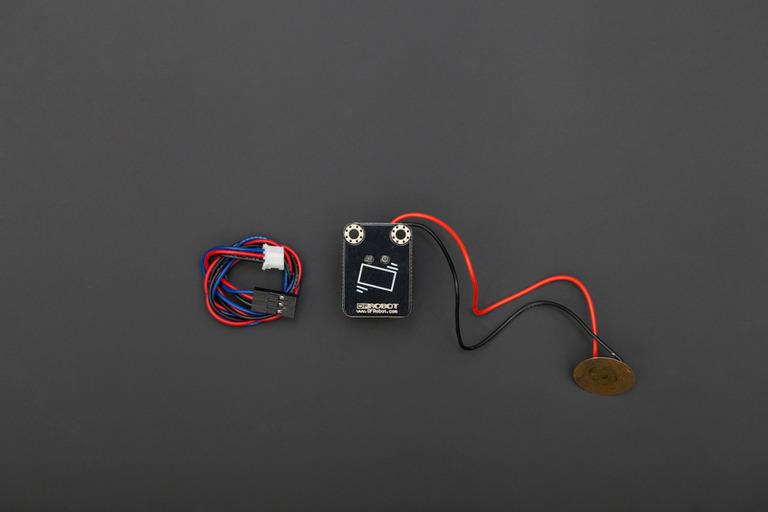 Gravity: Digital Piezo Disk Vibration Sensor-DFRobot