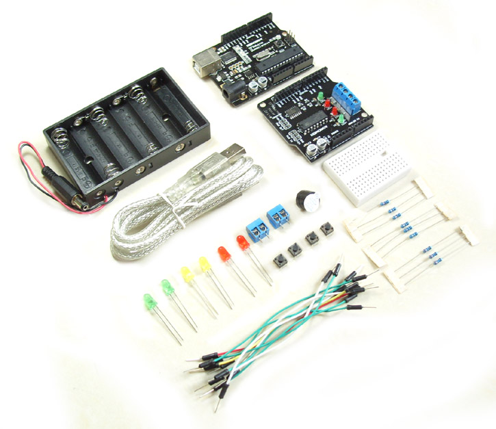 DFRduino Start Kit (Arduino Compatible)(Discontinued)