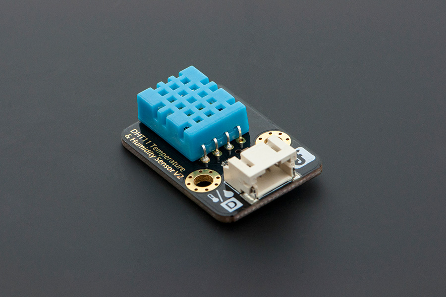Gravity: DHT11 Temperature & Humidity Sensor For Arduino