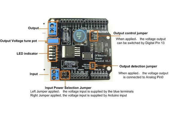 Power Shield (Arduino Compatible)