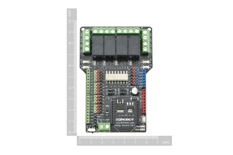 4 Channles Arduino Relay Shield - DFRobot