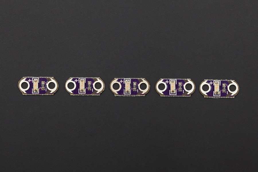 Lilypad LED Purple (5pcs)(Discontinued)