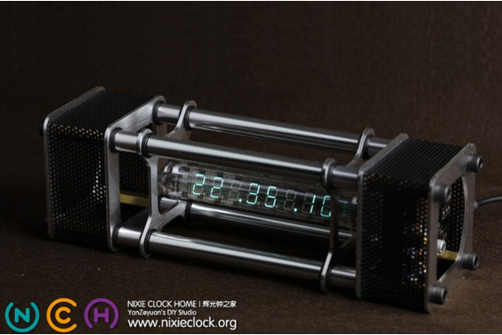 IV-18 VFD Tube Time Clock (Energy Pillar) - Limited Edition