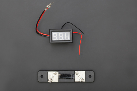 LED Current Meter 50A (Green)