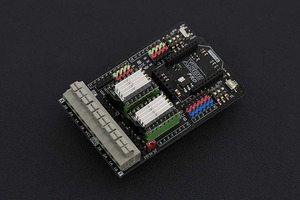 Gravity: Dual Bipolar Stepper Motor Shield for Arduino (DRV8825)