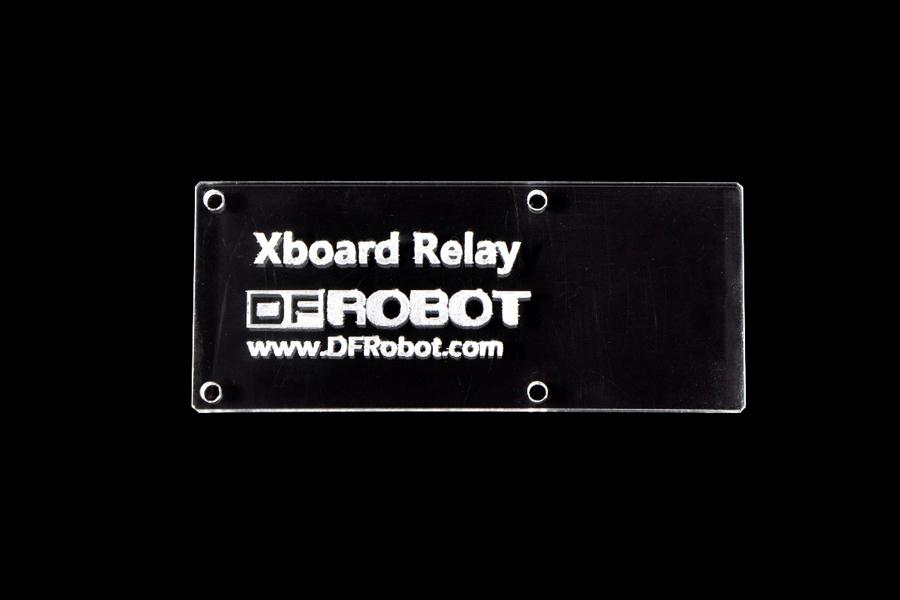 Acrylic Xboard Relay Base - Basic(Discontinued)