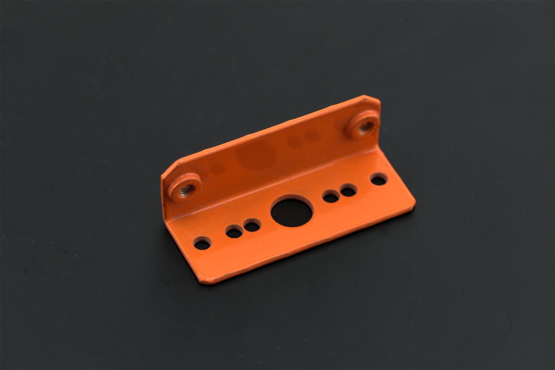 Sharp IR Sensor Mounting Bracket - GP2Y0A21/GP2Y0A02YK (Orange)(Discontinued)
