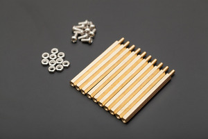 10 sets M3 * 50 hexagonal standoffs mounting kit