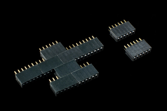 6 Pin Female Header-10 Pcs