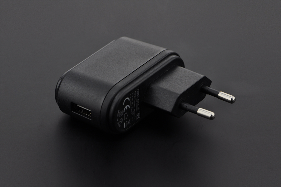 Wall Adapter USB Power Supply 5V@1A (European Standard)