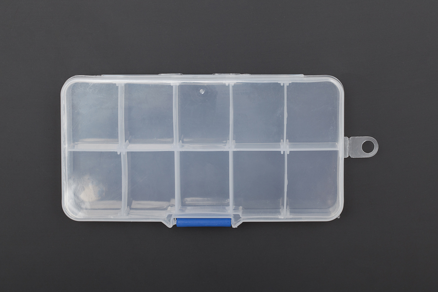 Adjustable Compartment Parts Box - 10 Compartments (Discontinued)
