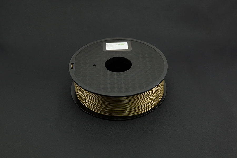 1.75mm PLA (1kg) - Gold(Discontinued)