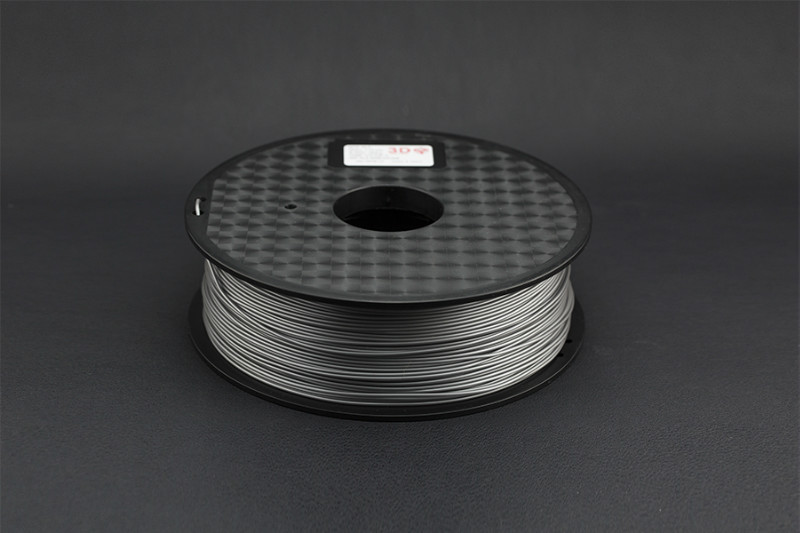 1.75mm PLA (1kg) - Silver(Discontinued)