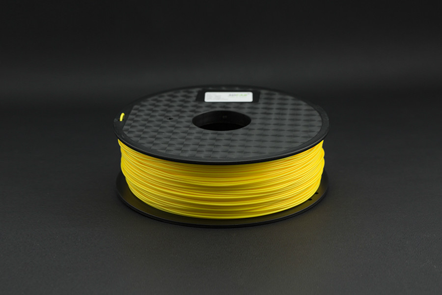 1.75mm PLA (1kg) - Yellow(Discontinued)