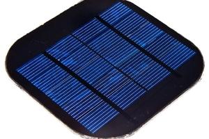 Solar Panel (5v 260mA) (Discontinued)