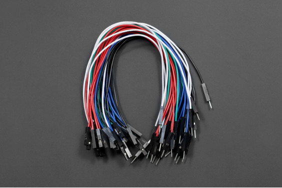 "Jumper Wires 7.8"" F/M (High Quality 30 Pack)"
