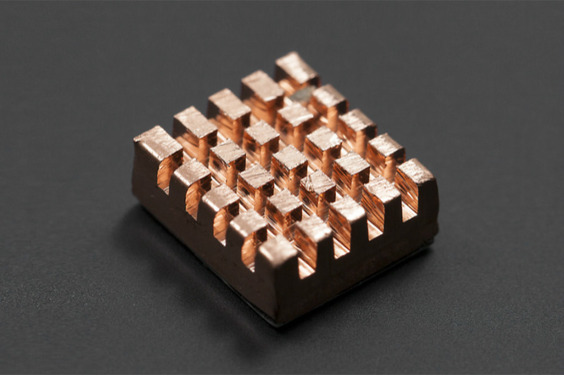 Self-Adhesive Pure Copper Heatsink