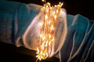 Star Series LED Strand - 100 Warm White Pixels