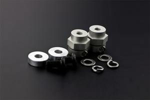 5mm Rubber Wheel Coupling Kit (Pair)