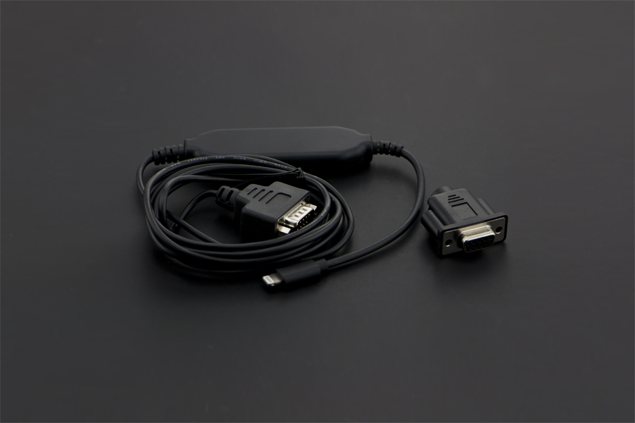Lightning Serial Cable (L2-DB9V)(Discontinued)