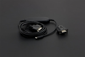 Lightning Serial Cable (L2-DB9V)