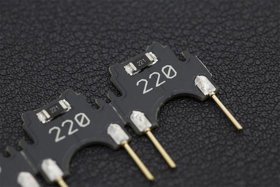 ECell: Breadboard-Plugin Resistor