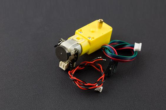 TT Motor with Encoder (6V 160RPM 120:1)