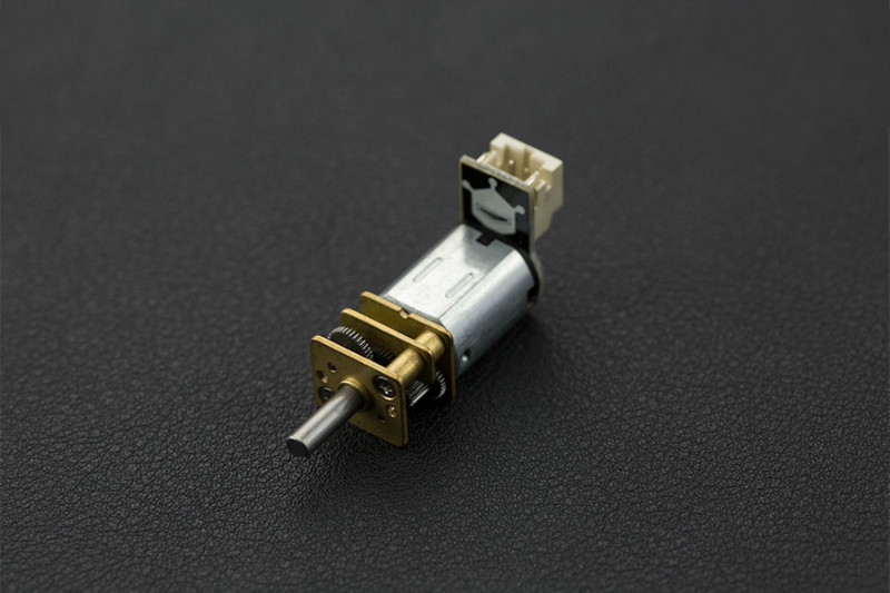 Micro Metal Gear Motor with Connector (75:1)