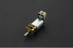 Micro Metal Gear Motor with Connector (30:1)
