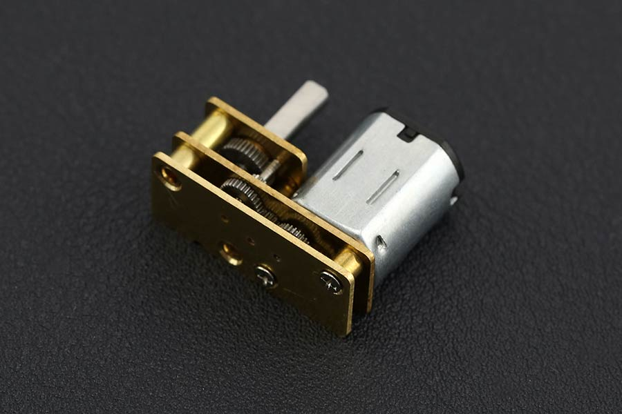 Micro DC Geared Motor with Exclusive Upside Down Structure