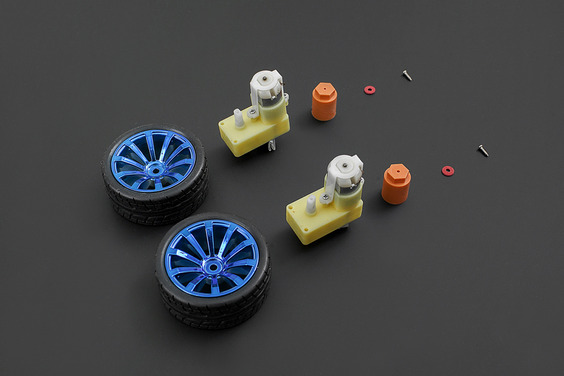 D65 Wheel Set - Blue(Discontinued)