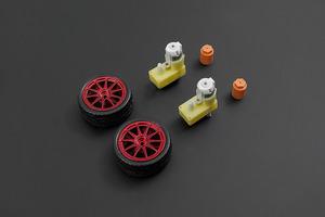D65 wheel set - Red