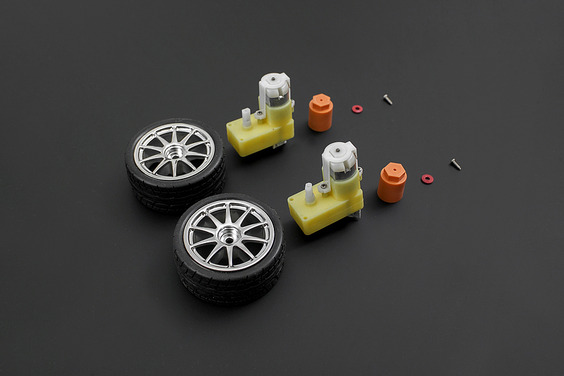 D65 Wheel Set - Silver(Discontinued)