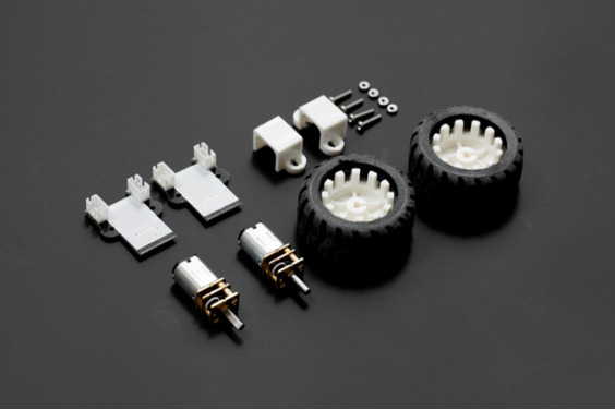 MiniQ Motor Wheel Set with Encoder