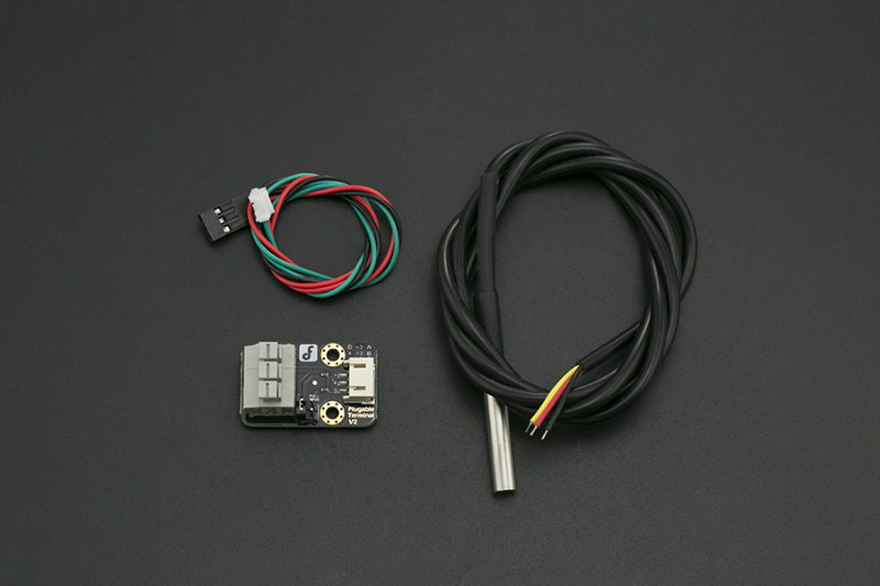 Gravity: Waterproof DS18B20 Sensor Kit