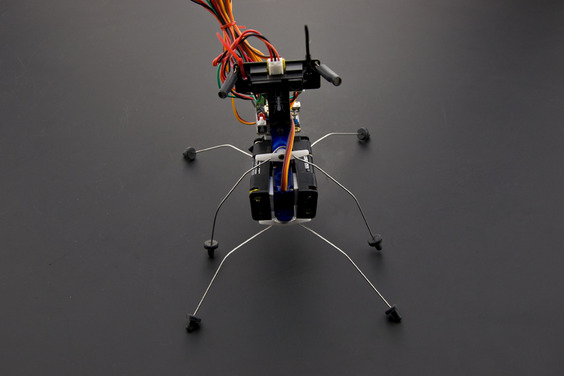 Insectbot Hexa - An Arduino Based Walking Robot Kit For Kids