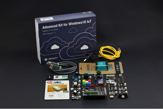 Advanced Kit for Raspberry Pi 2/3 without Pi