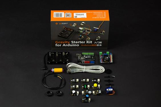 Gravity: Starter Kit for Arduino