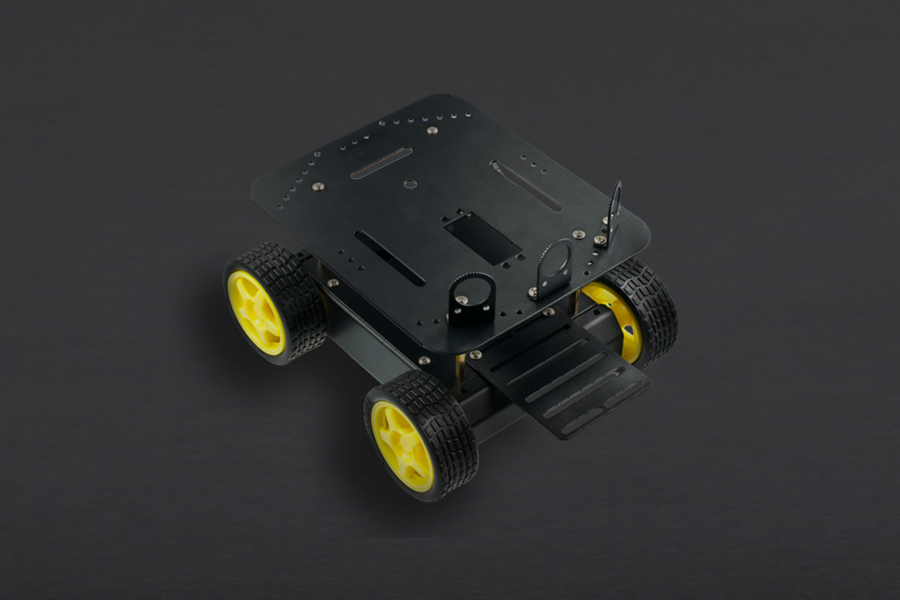 Pirate - 4WD Mobile Platform for Arduino