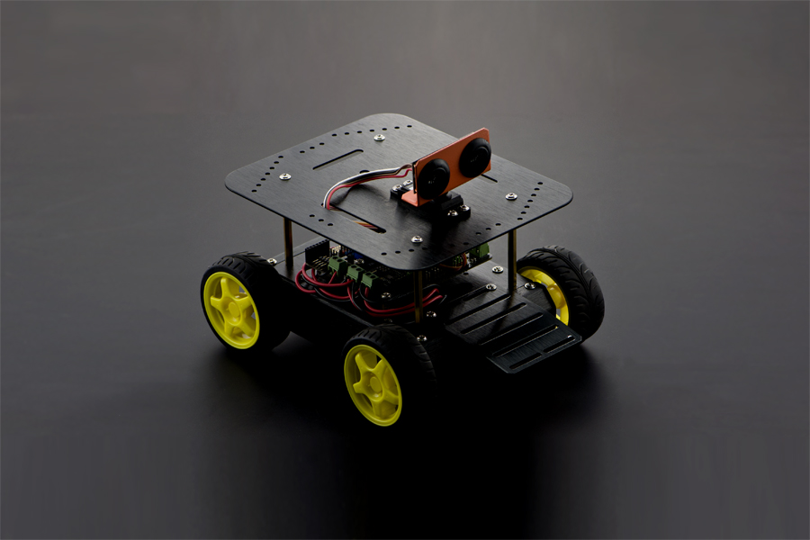 Pirate: 4WD Mobile Robot Kit for Arduino with Bluetooth 4.0