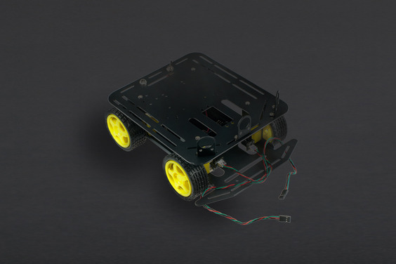 Baron-4WD Arduino Mobile Robot Platform with Encoder