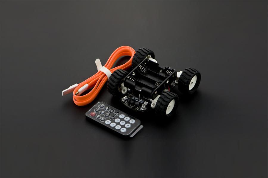 4WD MiniQ Robot V2.0 (Arduino Compatible)