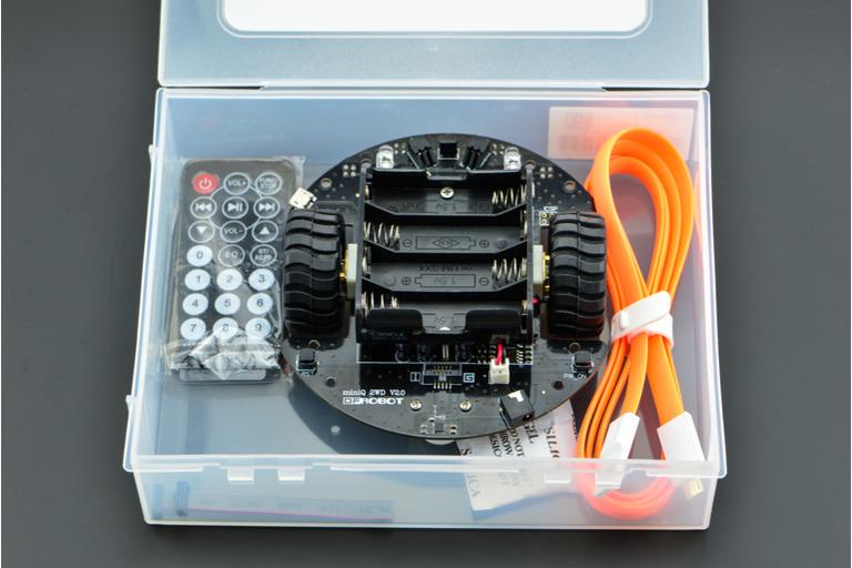 MiniQ 2WD Complete Kit v2 0 (Arduino Compatible)-DFRobot
