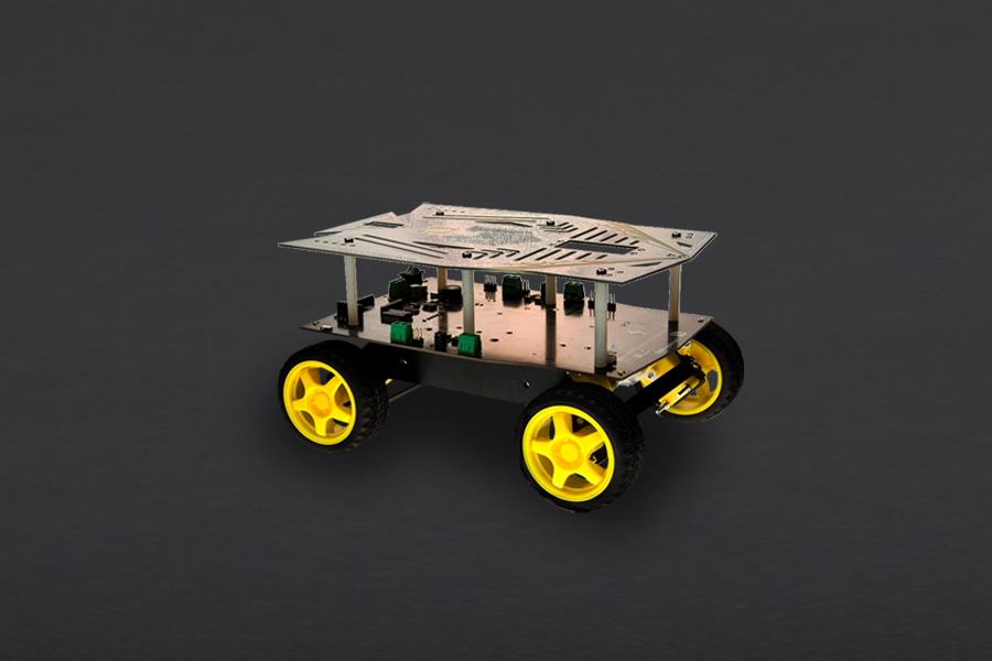 Cherokey: 4WD Mobile Robot for Arduino