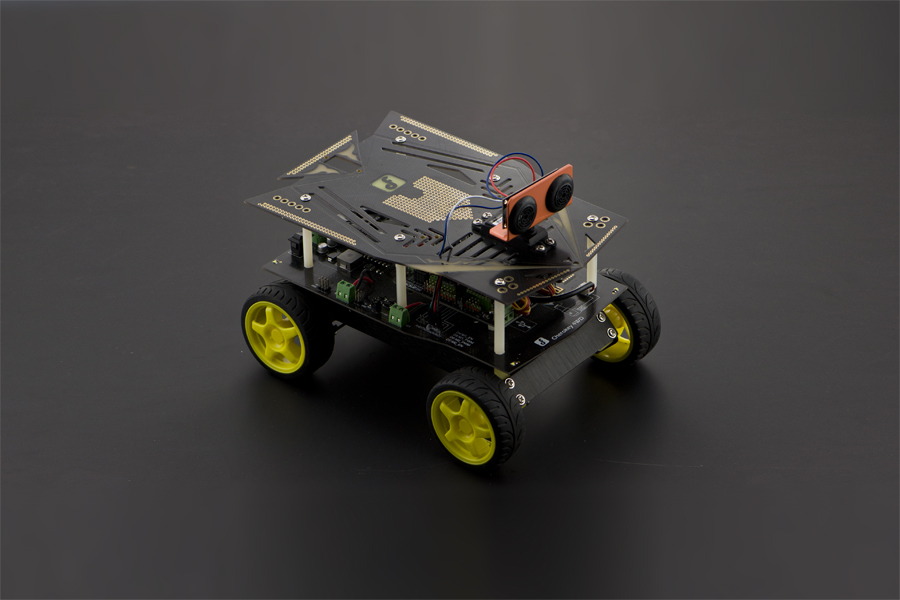 Cherokey: A 4WD Basic Robot Building Kit for Arduino