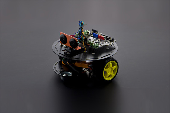 Turtle Kit: A 2WD DIY Robotics Kit Based on Arduino for Beginners