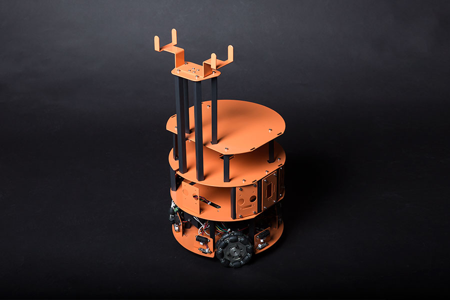 HCR - A Mobile Robot Platform Kit with Omni Wheels