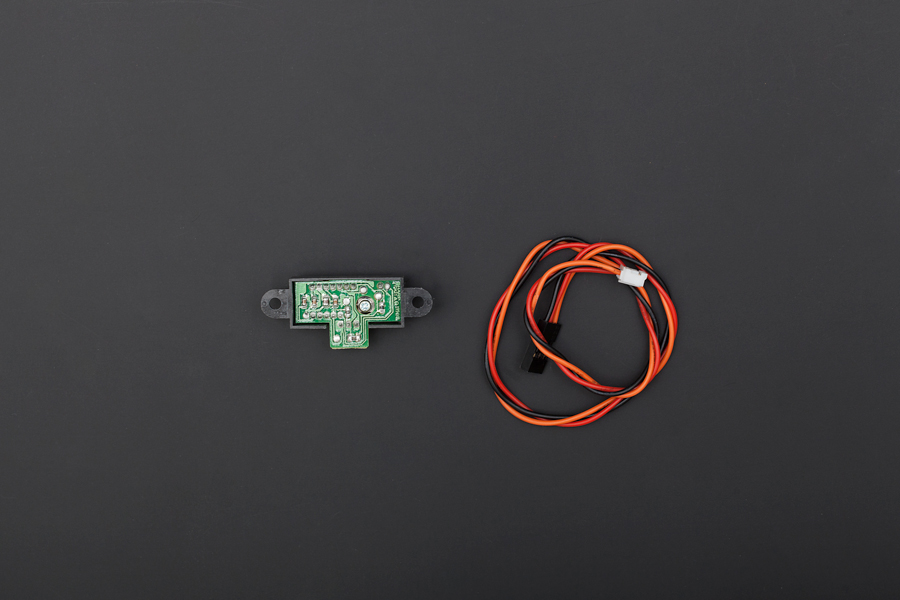 Sharp GP2Y0A21 IR Distance Sensor (10-80cm) For Arduino